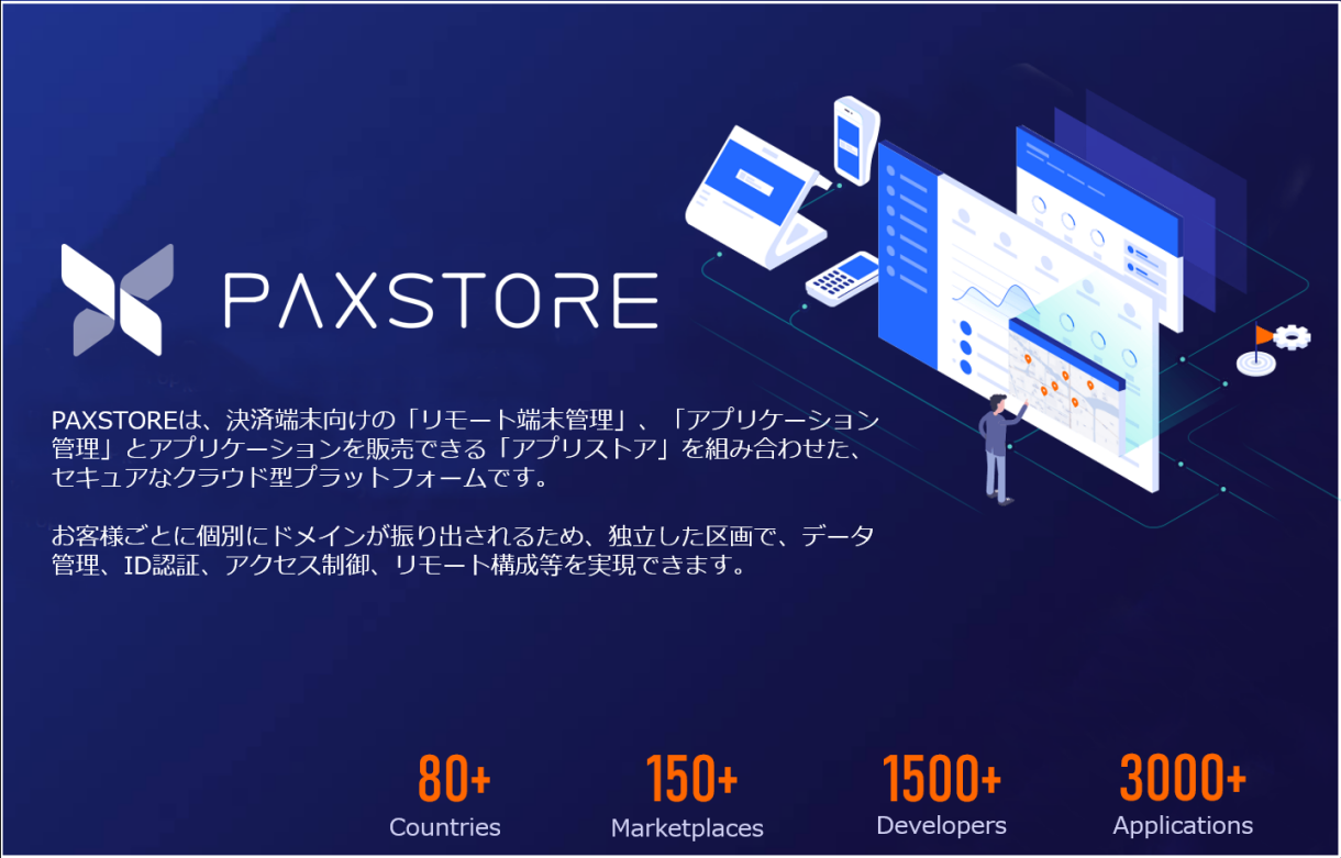 PAX PAYサービス A920 TMN リンク PAX Japan リモート